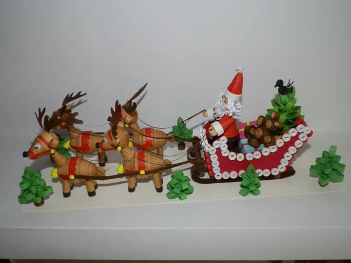 Pingl par mary durst sur christmas pinterest for Deco quilling