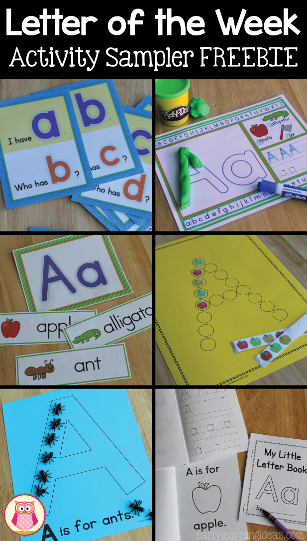 Many engaging hands on alphabet activities that are