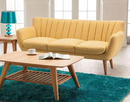 Retro Sofa Lime Furniture Pinterest - Retro style sofa