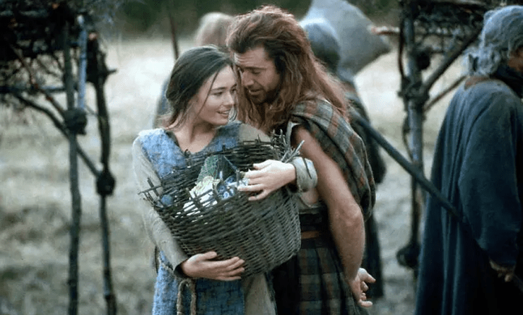 Medieval Matters The Many Sins Of Braveheart Escenas Peliculas Cine Actrices