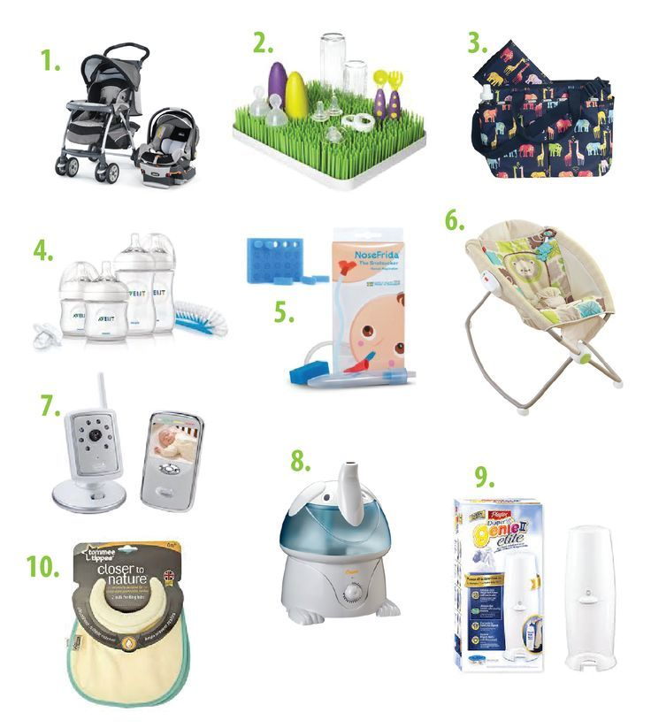 Top 10 must-haves for new-moms, list of essential items for - baby registry checklists