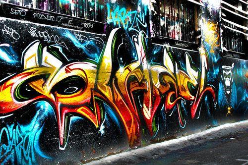 Graffiti A Wall/building