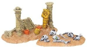 Lemax Spooky Town Figurine: Egyptian Ruins, Set of 2
