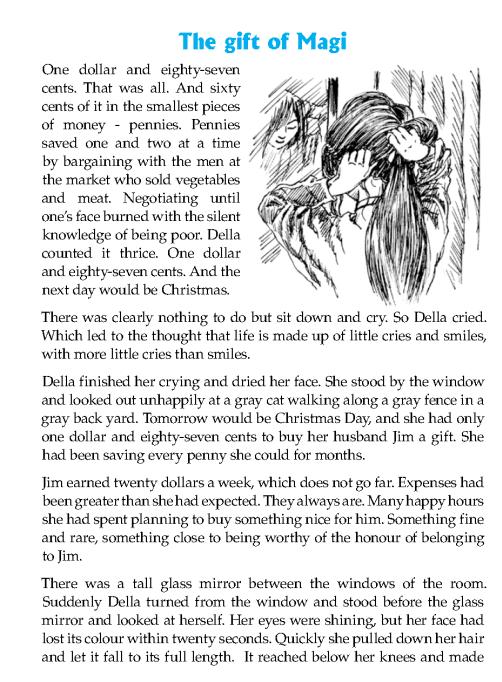 Literature Grade 6 Short Stories The Gift Of Magi 2 English