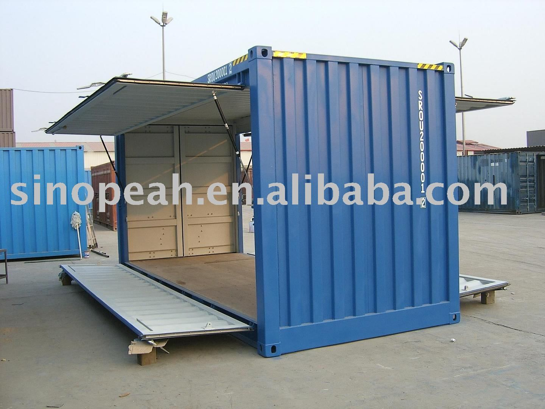 Best Kitchen Gallery: 20ft Swing Door Shipping Container Buy 20ft Shipping Container of 20 Foot Shipping Container Cost on rachelxblog.com