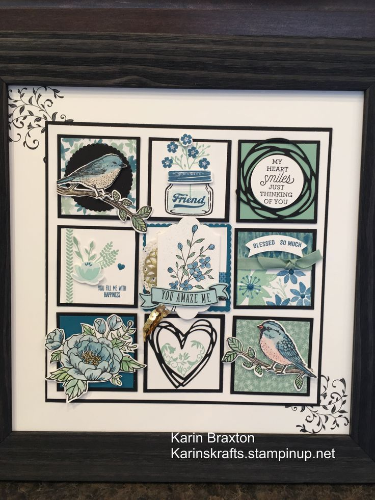 cute frame | Stampin Up Sampler | Pinterest