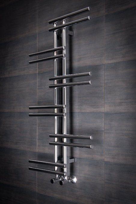 Designer Handtuchheizkörper Badheizkörper 1005x550mm Chrom ...