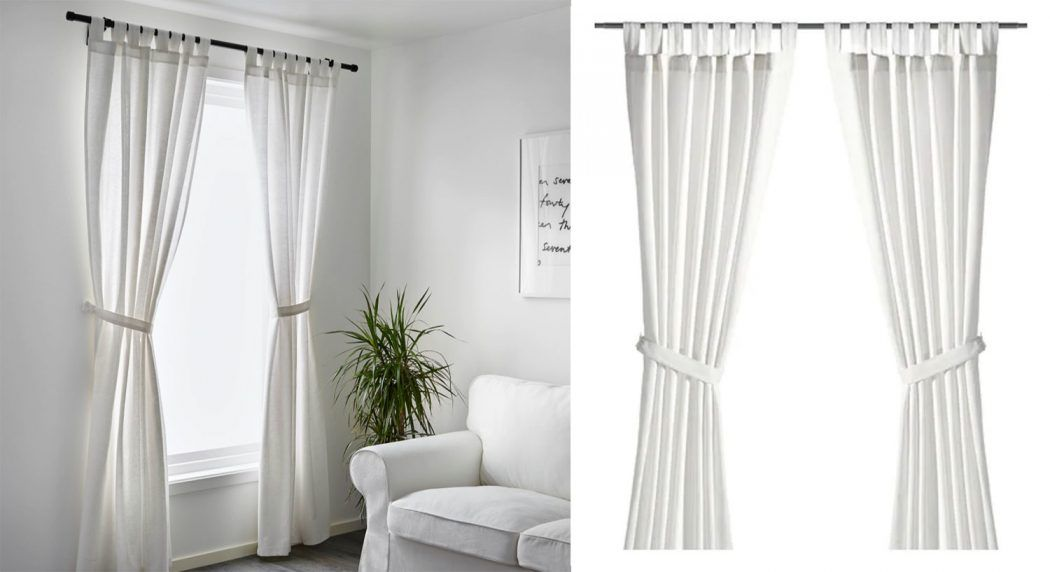 How To Make Ikea Curtains Look