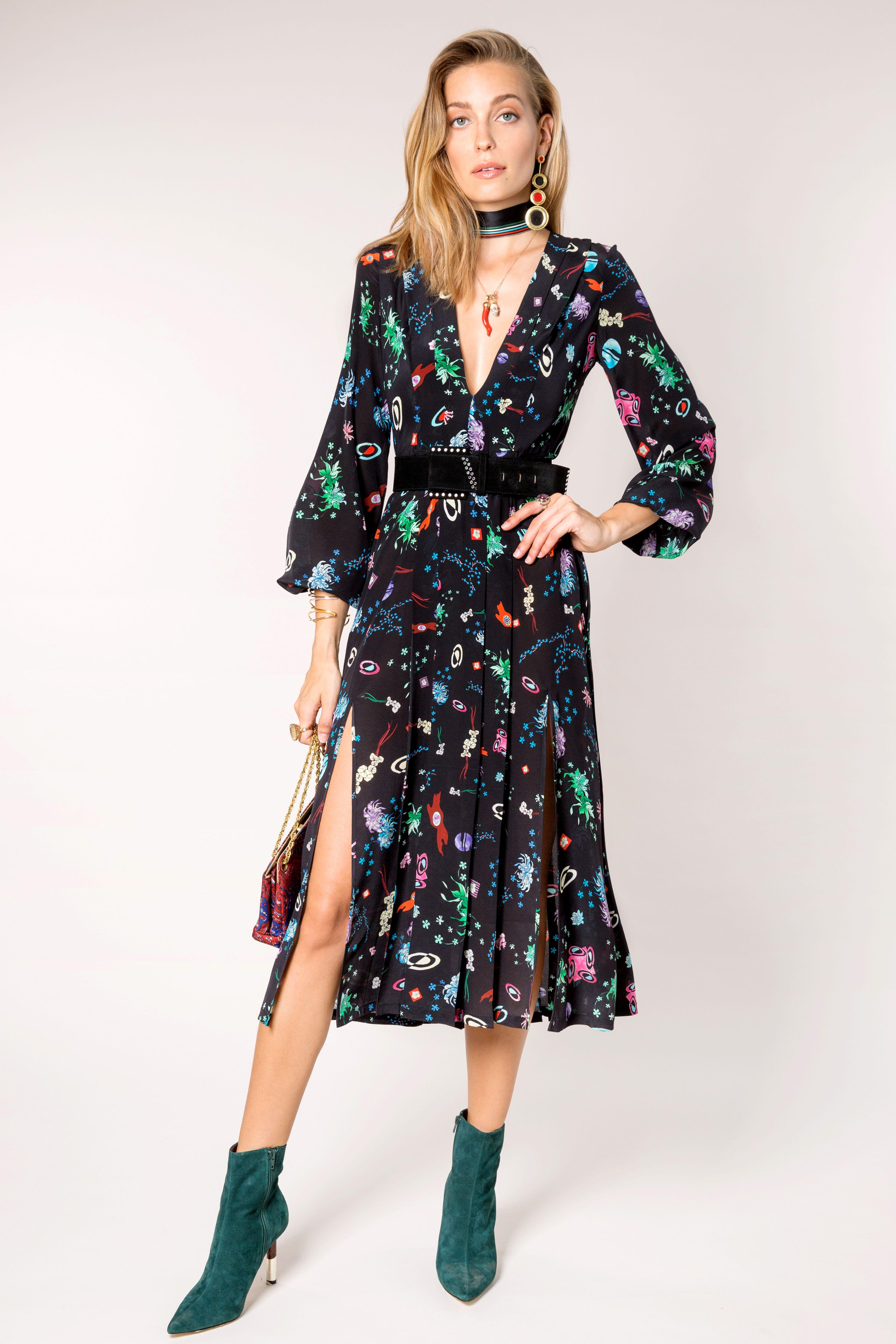 a47263e7d53 Camellia - Space Age Floral ⋆ RIXO LONDON | Spring Faves | Dresses ...