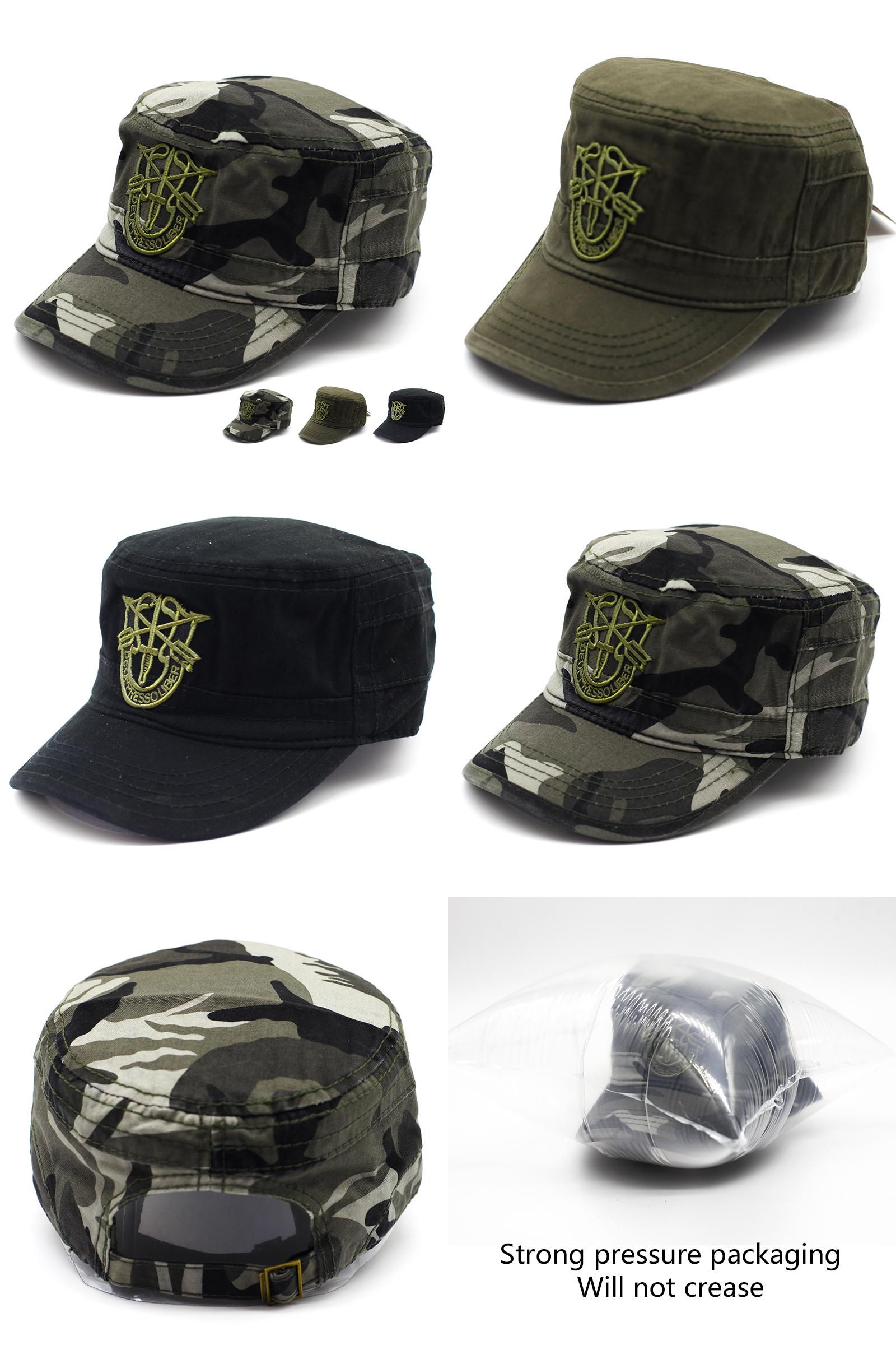 06863f3dd63  Visit to Buy  Men Tactical Army Camouflage Flat Cap Hats For Women Men  Summer