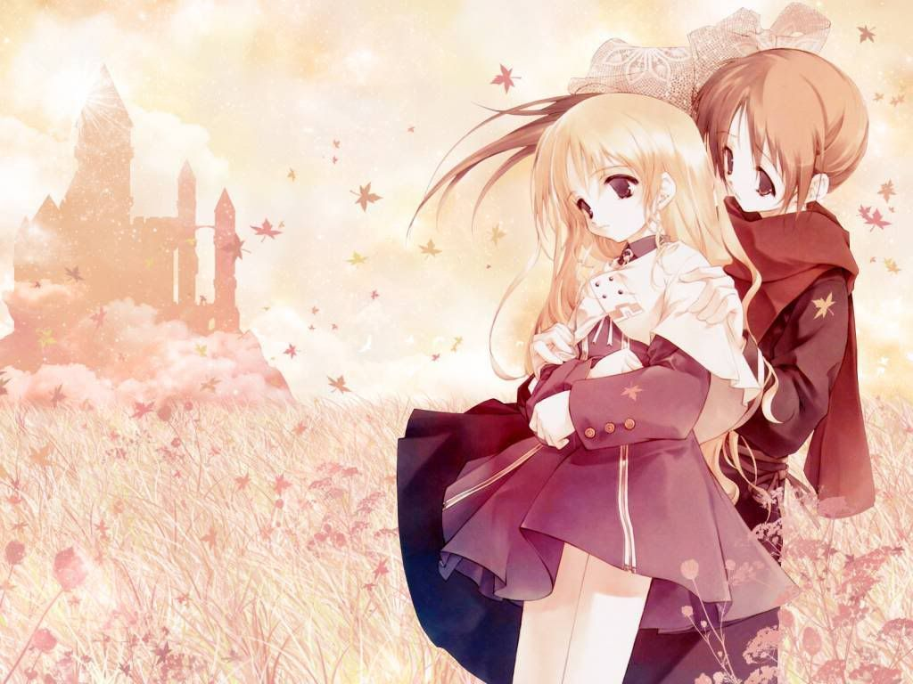 Anime Couples My Love HD Wallpaper Two or More Anime