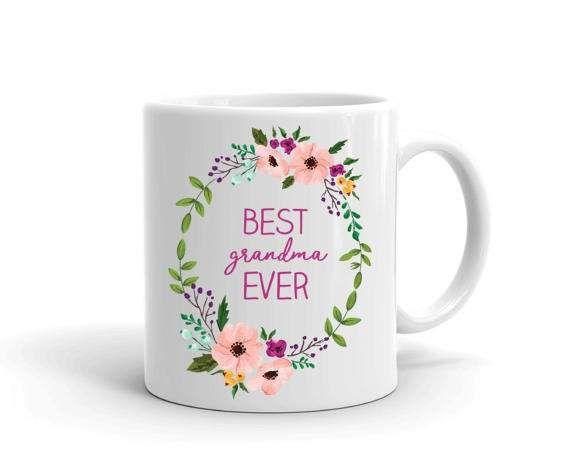 Best Grandma Mug, Gift for Grandma, Mother's Day Mug, Coffee Mug ...