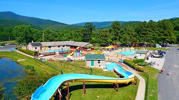 Yogi Bear S Jellystone Park In Luray Va Home Virginia Camping Camping Destinations Va Vacation