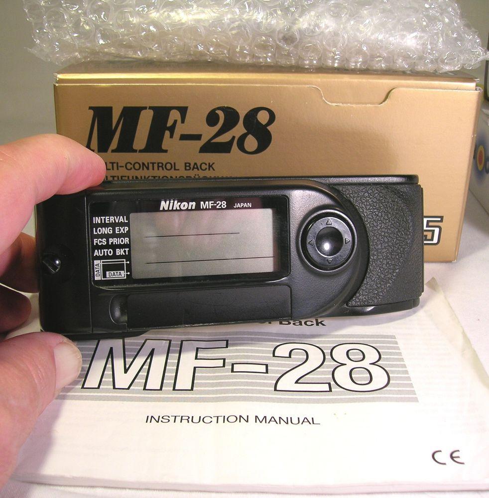 Never Used Nikon MF-28 Multi-Control Back W/ Box & Instr