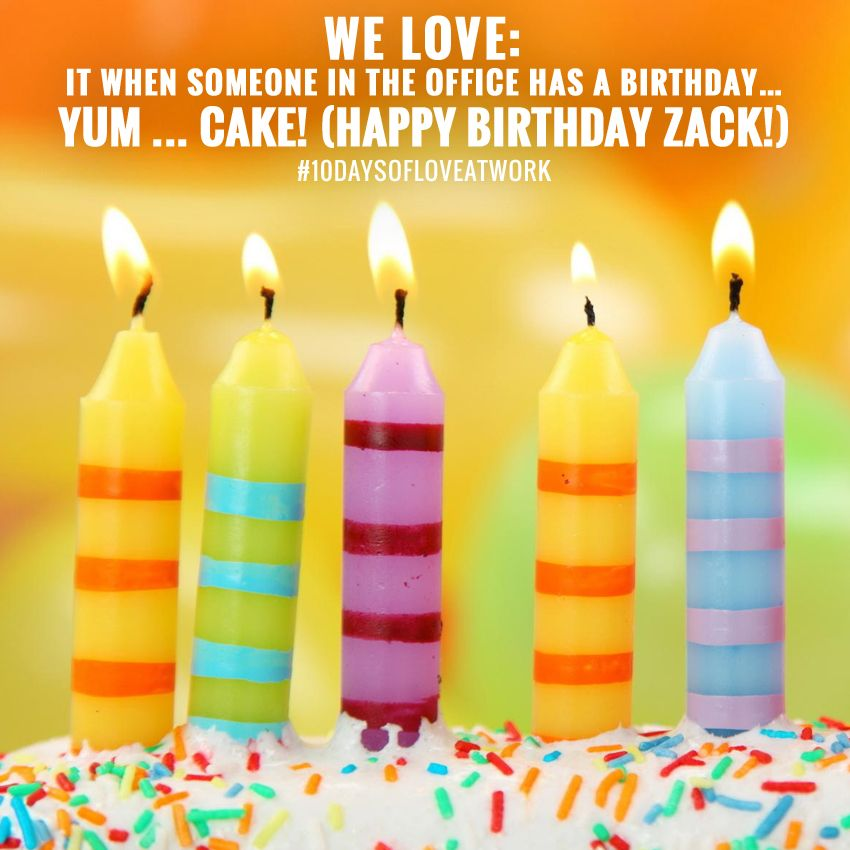 Happy Birthday To Our Fulfillment Manager Zack Day 4 We Love It When Someone Happy Birthday Quotes For Friends Happy Birthday Quotes Happy Birthday Wallpaper
