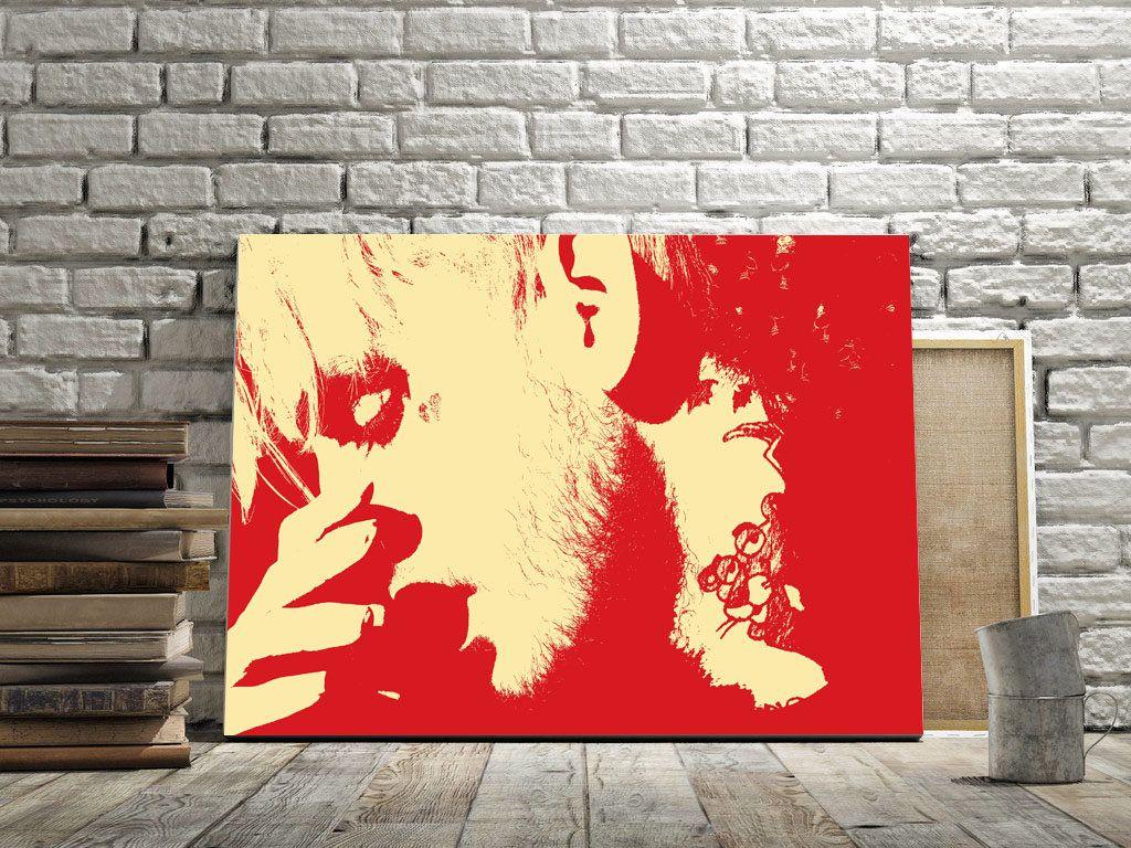 Fine Art Print, art print Lil Peep, painting art, wall art print ...