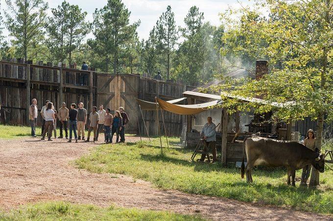 The Walking Dead Advance Anteprima The Other Side Foto Video Tv Geek Conversazione The Walking Dead Walking Dead Season The Walking Dead 7