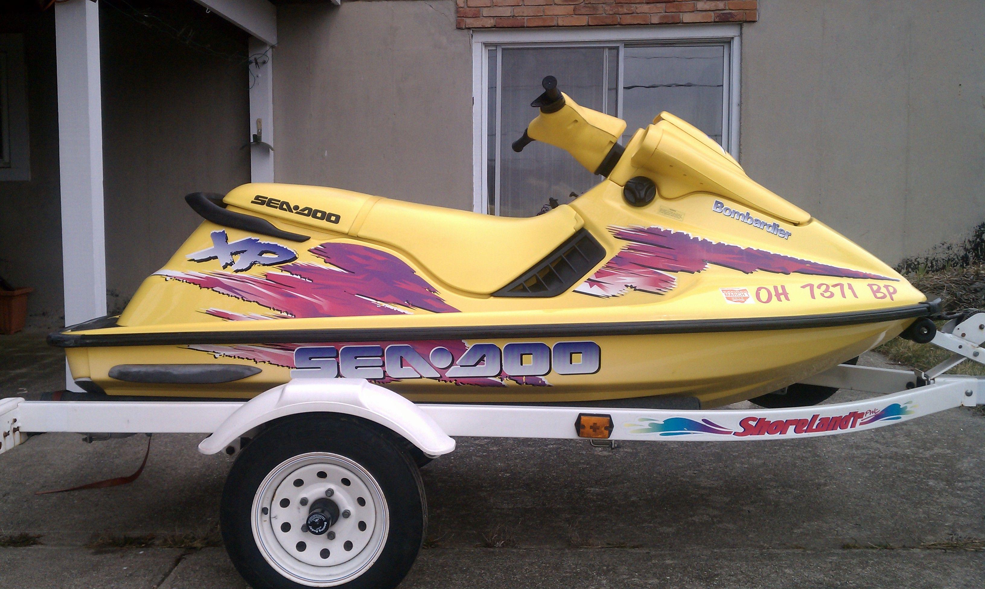 1996 Seadoo Xp >> My First Watercraft 1996 Seadoo Xp Cars Trucks And Boats Water