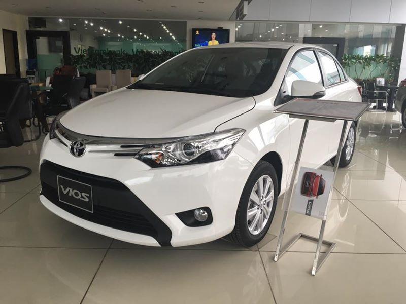 Toyota Vios đang là dòng xe rất được ưa chuộng tại Việt Nam cho việc chạy xe Grab