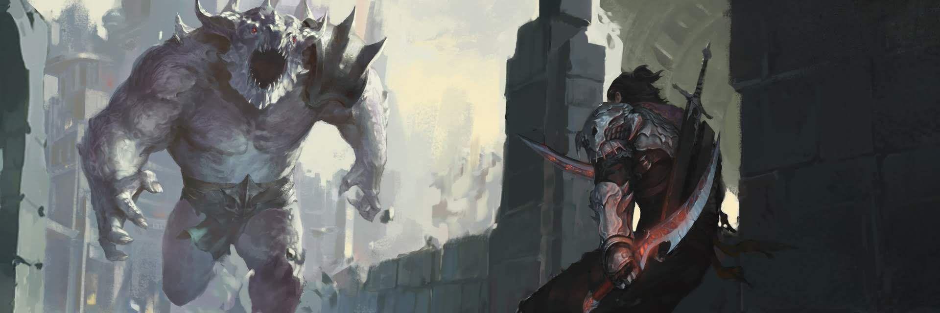 Fantasy Warrior, Artwork, Painting