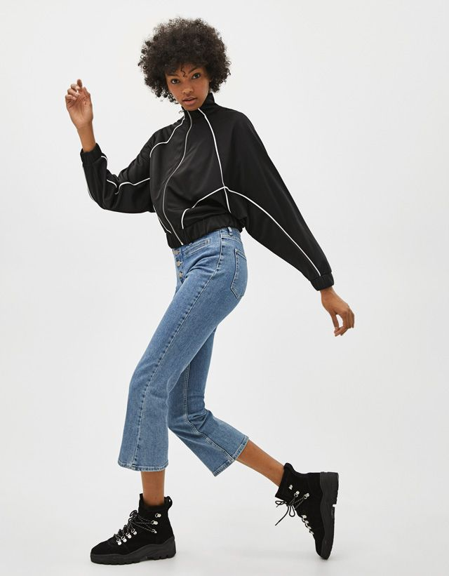 2d2a78e8c3b5 Μπλούζες & Ζακέτες - ΡΟΥΧΑ - ΓΥΝΑΙΚΑ - Bershka Greece | myrtww | Style,  Fashion