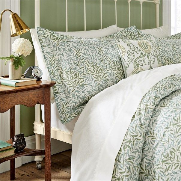 Morris Co Willow Bough Bed Linen Bed Linens Luxury Bed Spreads Bed Linen Sets