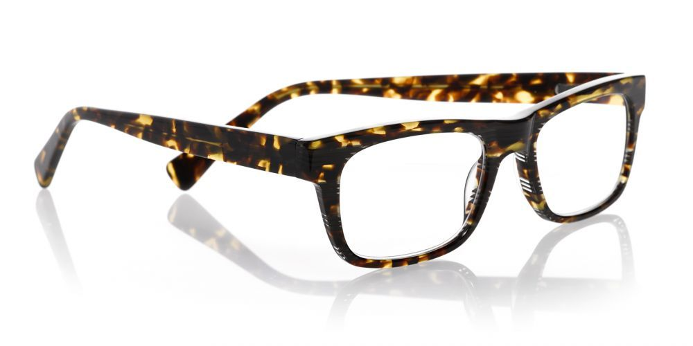 ff85ca4bbf Just the update your wardrobe needs! eyebobs Style Guy reader in new  tortoise stripe.