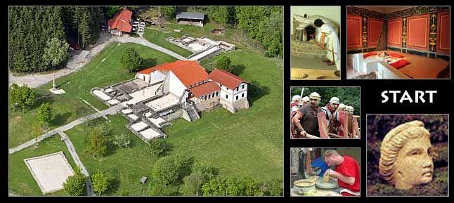 Roman OpenAir Museum HechingenStein A Villa Rustica