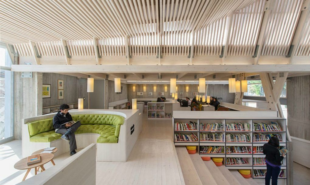 Spectacular Library In Chile Built With Locally Sourced Wood From