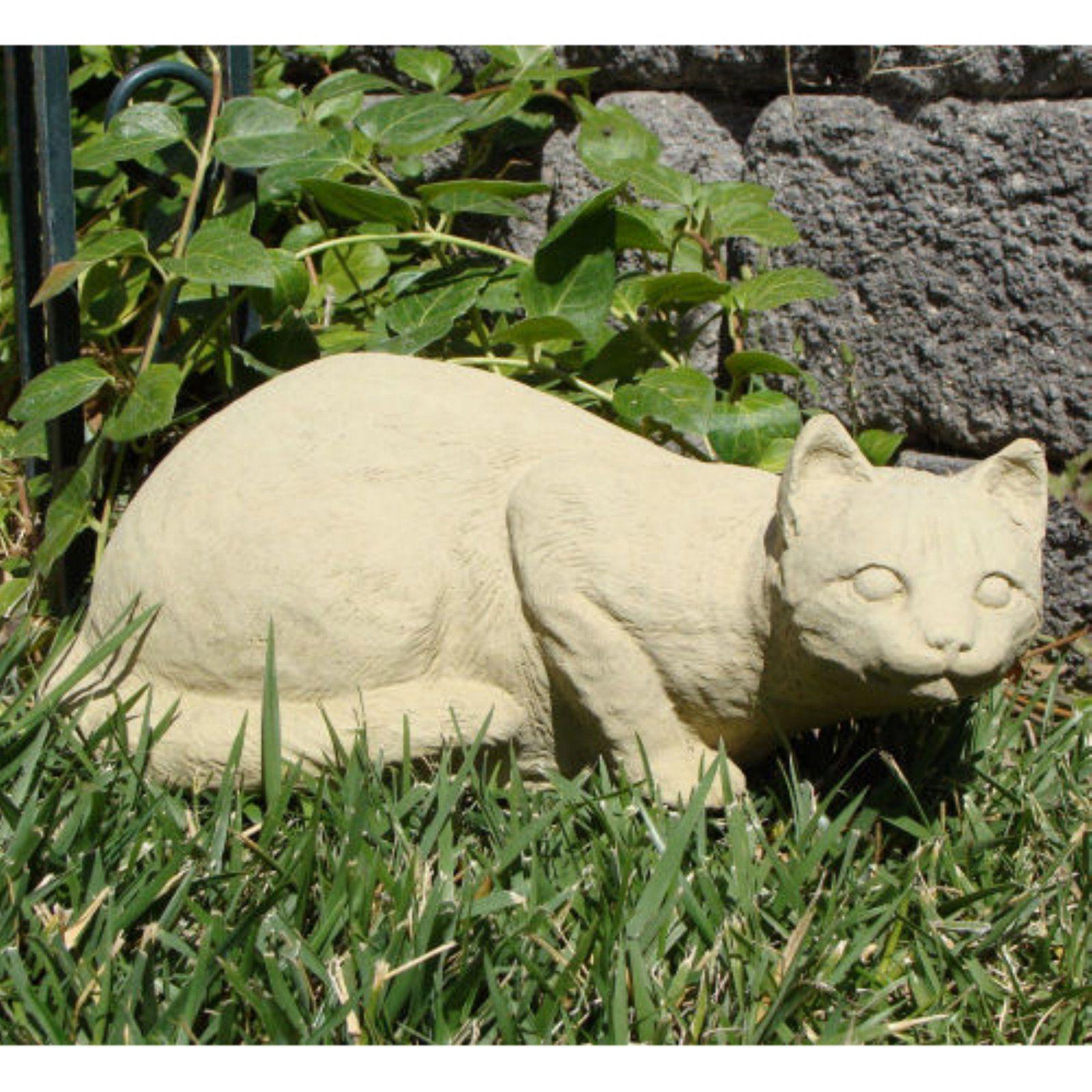 Crouching Cat Garden Statue Garden Statues Outdoor Statues Cat