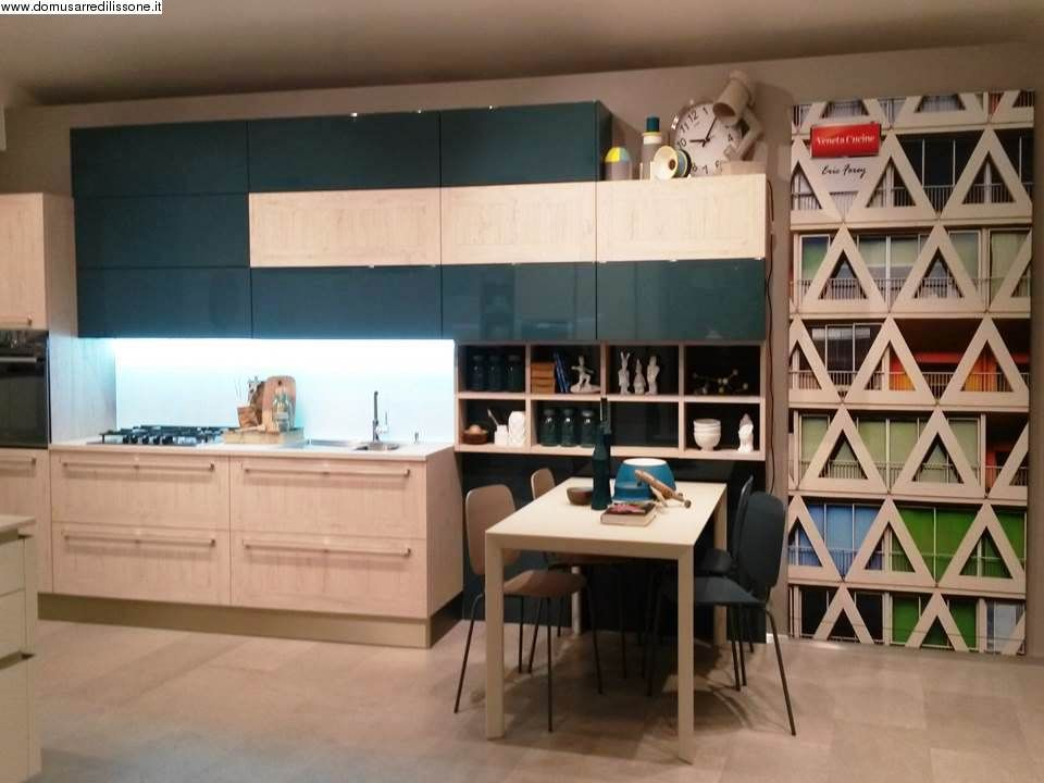 I colori e l\'allegria di una cucina Veneta cucine ...