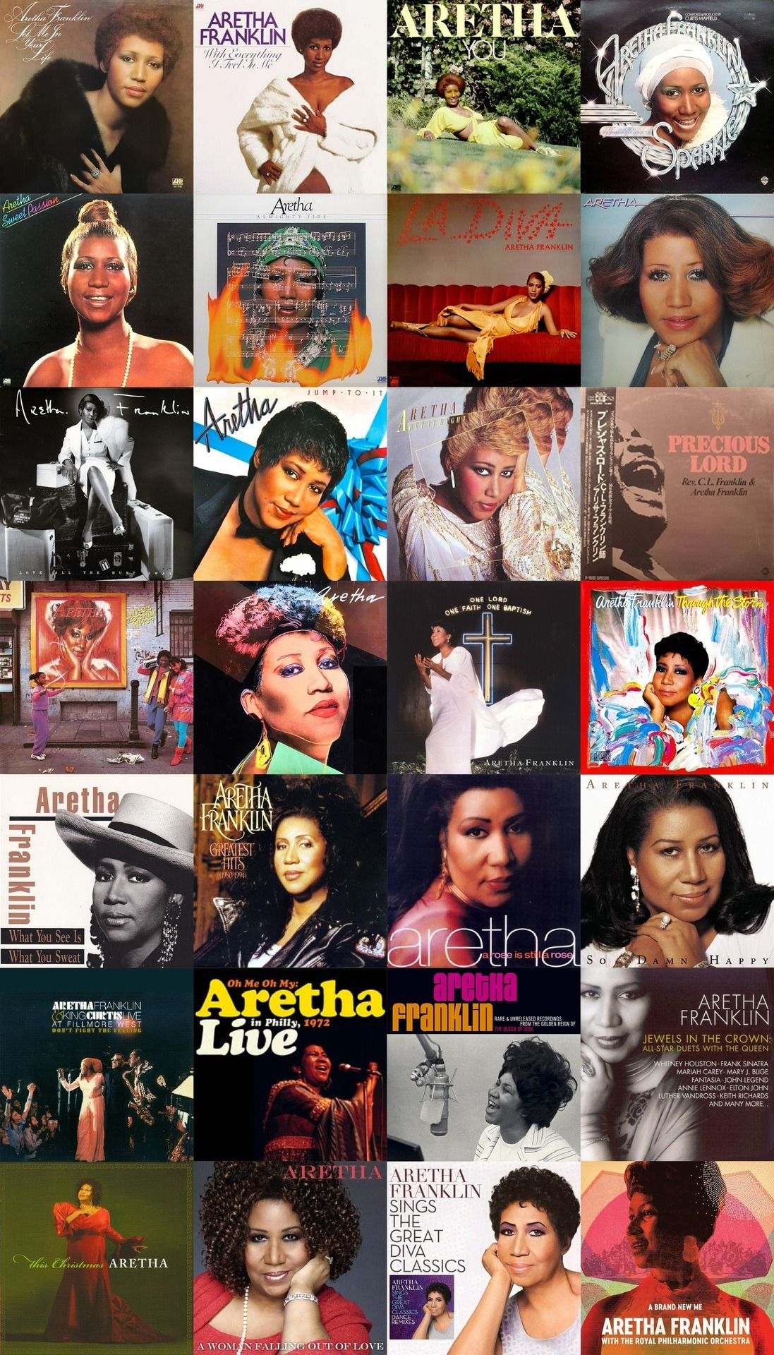 Aretha Franklin Complete Discography Aretha Franklin
