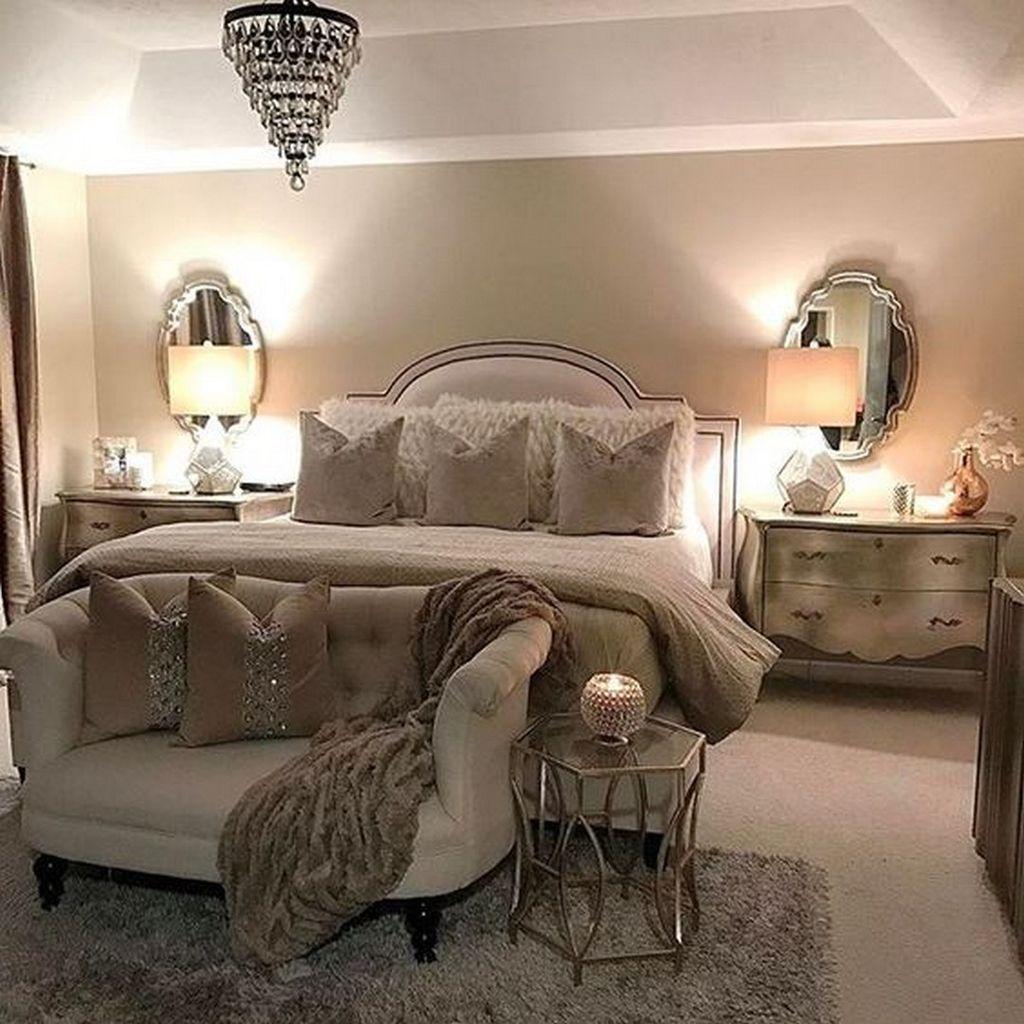 37 Romantic And Tender Feminine Bedroom Design Ideas 13