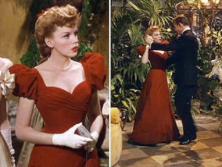 Judy Garland, Christmas Dress in Meet Me In St Louis  What's more