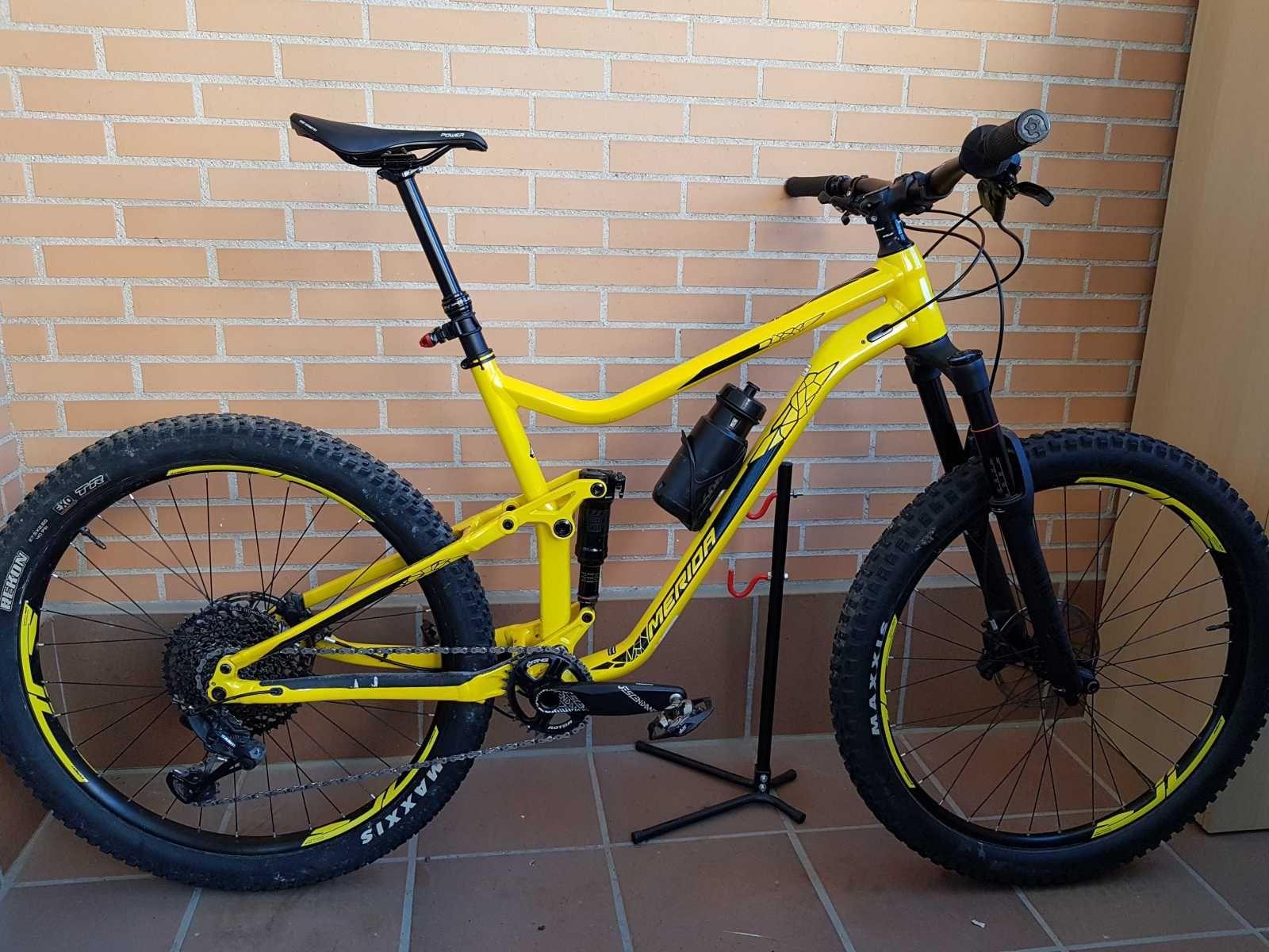 Bicicleta De Montaña Merida One Forty Ref 42455 Talla L Año 2018 Cambio Sram Gx Eagle Cuadro De Aluminio Bicicletas Bicicletas Mtb Bicicletas De Montaña