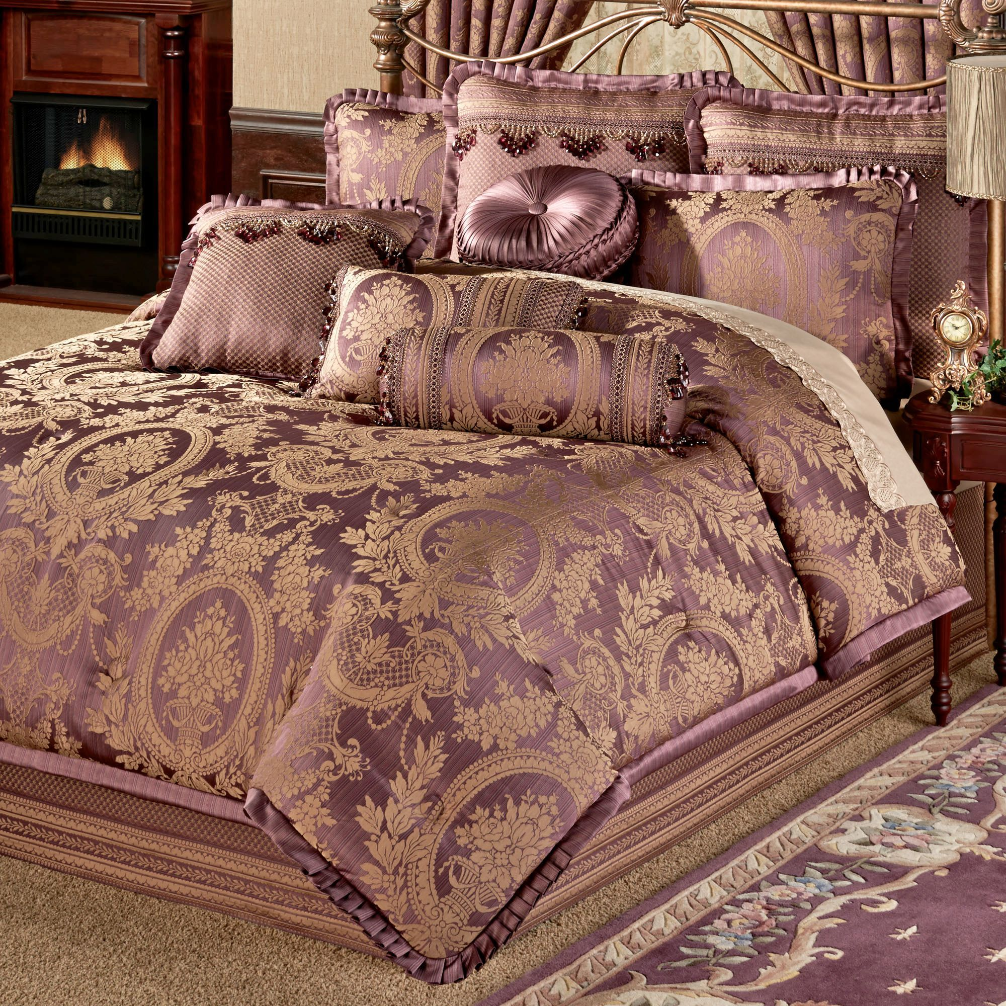 Bedding jardin collection bedding collections bed amp bath macy s - Josephine Floral Medallion Comforter Bedding