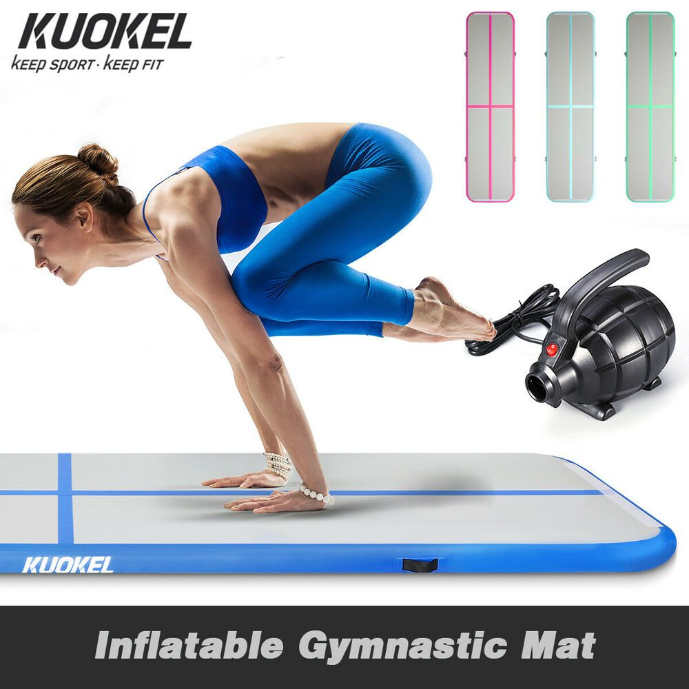 Ad Ebay Outdoor Air Track Floor Gymnastic Inflatable Balance