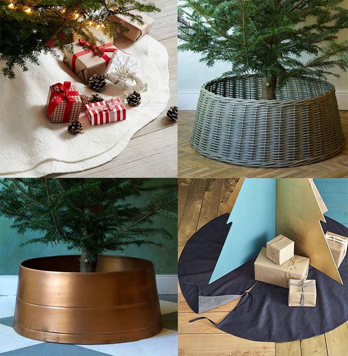 Stockings, Tree Skirts and Holiday Extras Copper