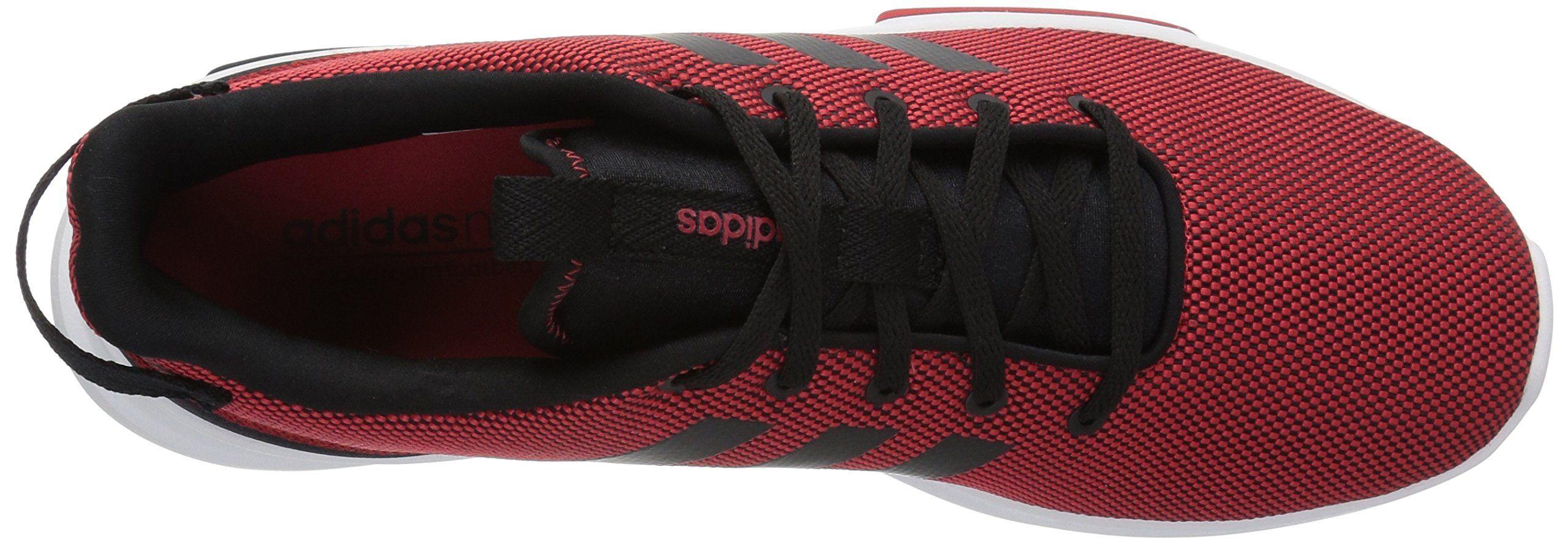 007030542cd098 adidas Mens CF Racer TR Running Shoes Scarlet Black White 10 M US ...