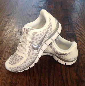 Womens Nike Free 5.0 Size 5 Snow Leopard  9dadb6f945