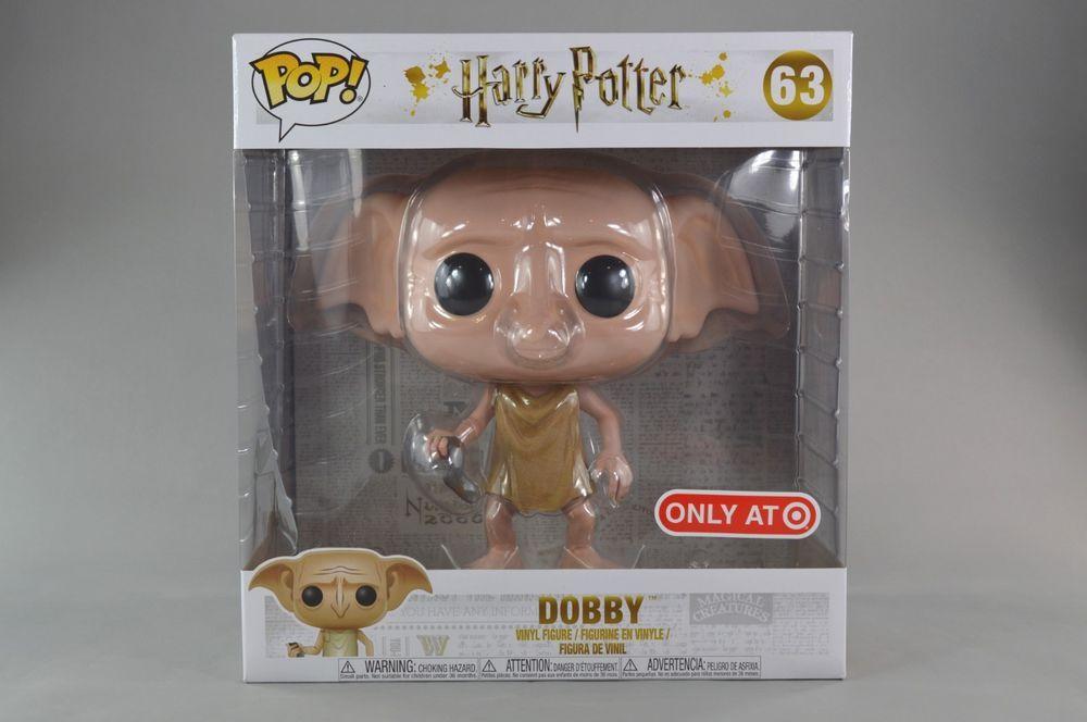 Harry Potter Funko Pop 10 Inch Target Exclusive Dolby Rare New Ebay Link Harry Potter Funko Pop Harry Potter Funko Vinyl Figures