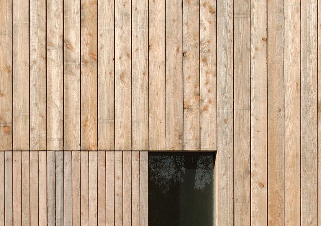 Lariks gevel home materialen pinterest gevel architectuur en gevelbekleding - Buitenverlichting gevelhuis ...