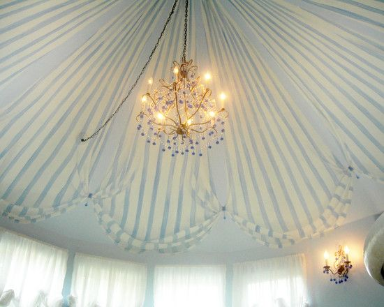 Fantastic Faux Painted Tent Ceiling Painted Ceiling Ceiling
