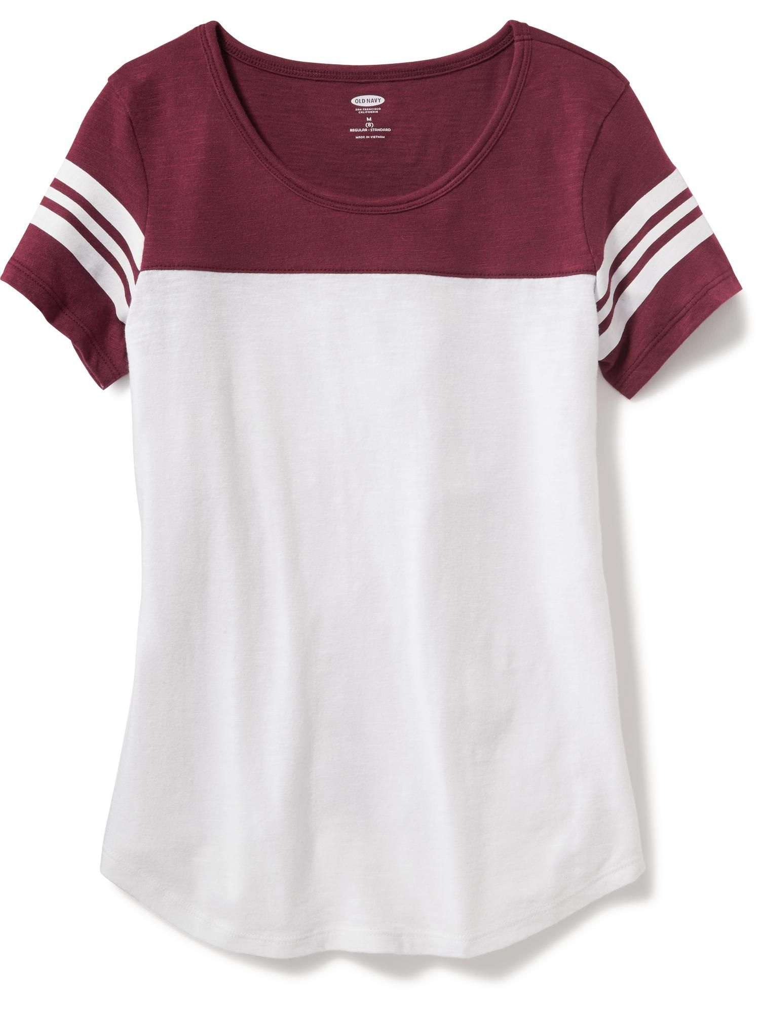 ce27e37828f1f8 Football Tee for Girls   Old Navy   clothes in 2019   Teenager ...