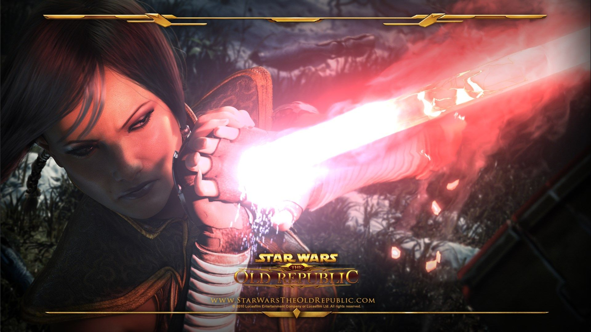 Free Star Wars Knights Of The Old Republic Wallpaper Jaylee Hardman 1920x1080 Star Wars The Old Star Wars Games The Old Republic