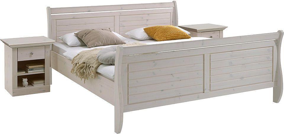 Bett, Home affaire, »Skanderborg« Jetzt bestellen unter   - schlafzimmer kiefer massiv