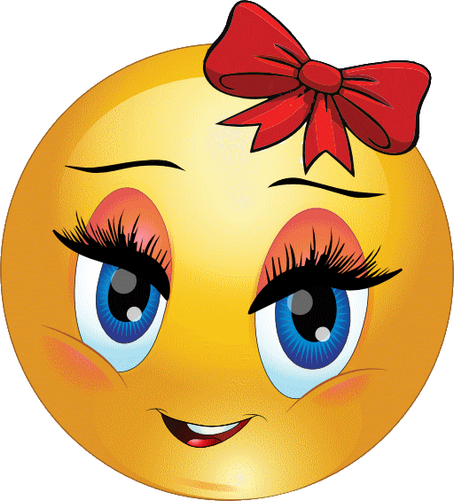 Aw Fille Contente Smiley Emoticone Clipart Cartoon Telechargement Gratuit Et Sans Inscription Emoticone Gratuit Emoticone Dessin Smiley