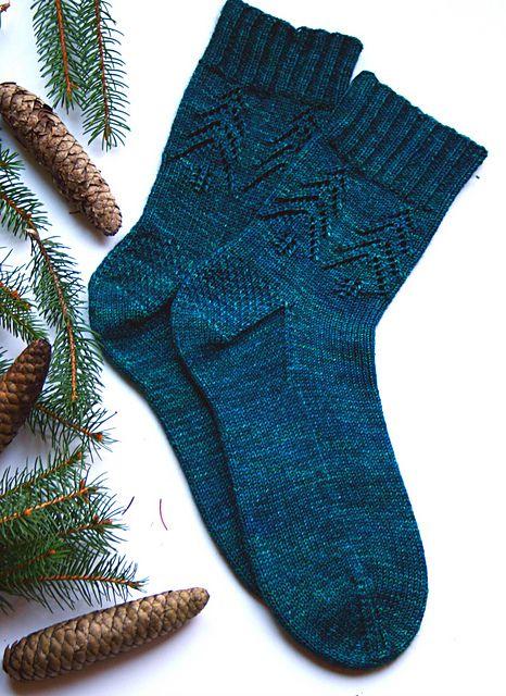 Photo of Evergreen Socks