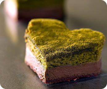 Green tea fondant chocolate  記念日限定「抹茶フォンダンショコラ」
