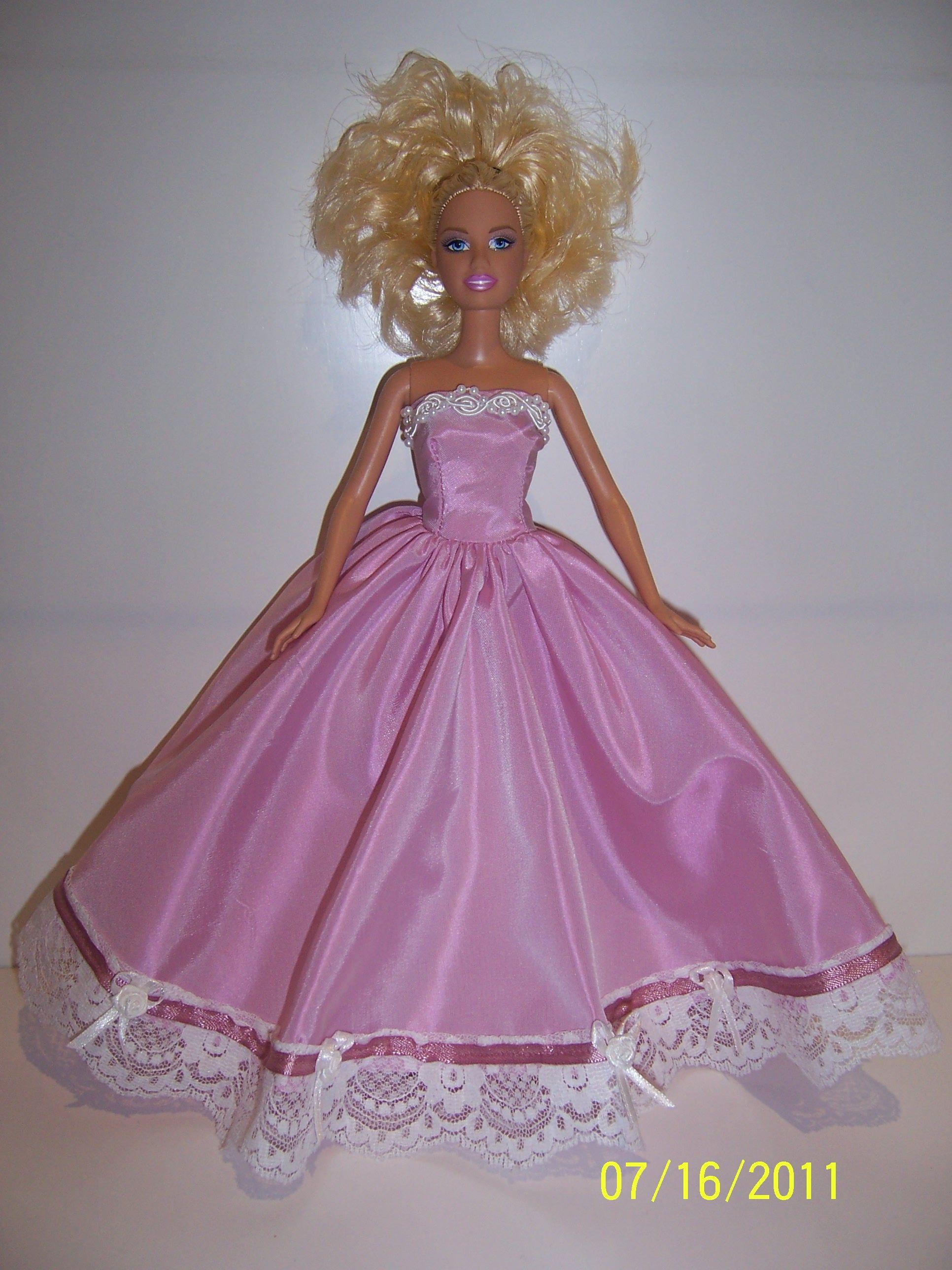 Light pink irridescent taffeta dress barbie ball gowns pinterest